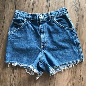 • Vintage Denim Cutoffs •